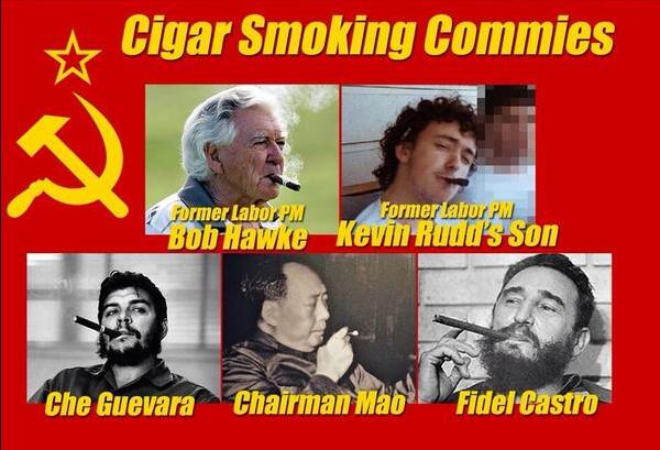 Cigar Smoking Communists • Australia First Party