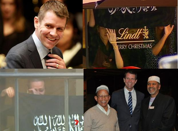 Mike Baird Lindt Cafe Betrayal