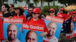 Labor Candidate for Cook, Billy Gordon