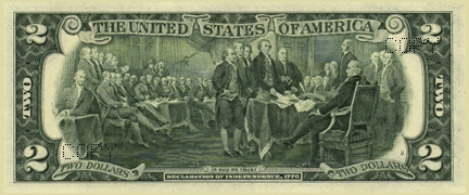 American $2 Note