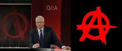 Tony Jones QandA anarchist propaganda