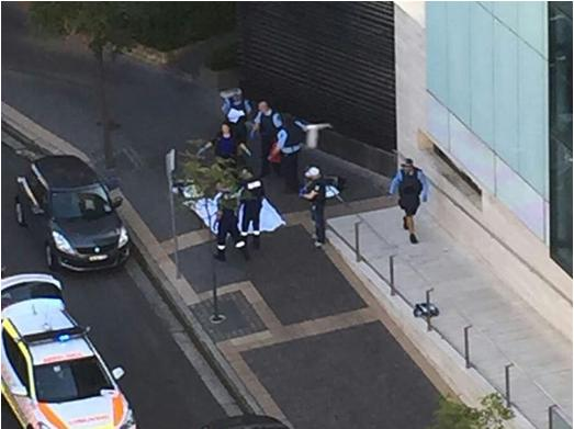 Islamic attack on NSW Police Headquarters