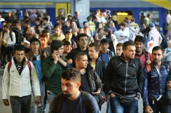 Millions of Arab males invade Germany