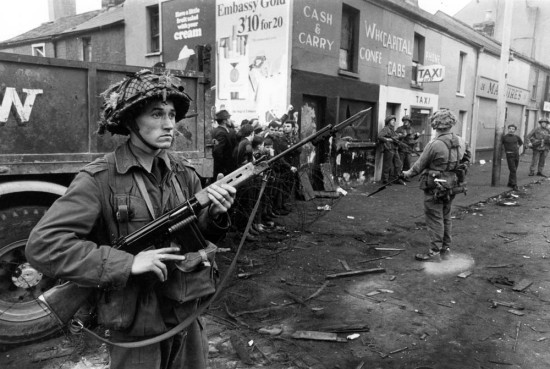 British Troops in Belfast