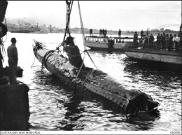 Japanese Submarine in Sydney Harbour