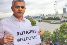 Sadiq Khan converting London to Islam