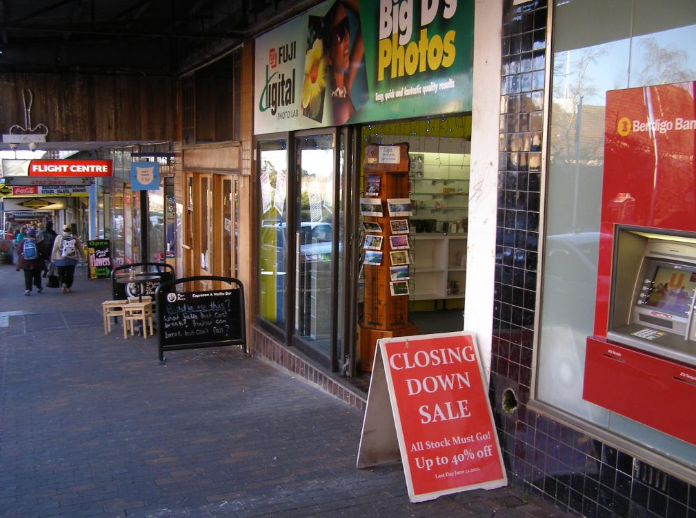 Big D's Photos closing down June 2012