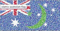 Islamic Australian flag