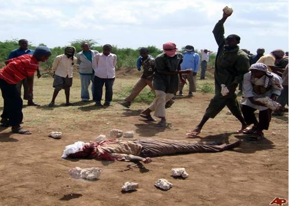 Muslim stoned to death for adultery