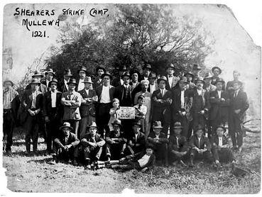 Shearers Strike Camp (Mullewa, 1921)
