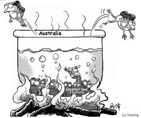 Australian Boiling Frogs