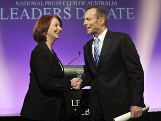 Gillard and Abbott Offshoring Partners