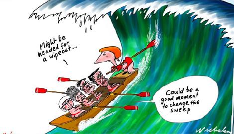 Gillard the National Helmsperson