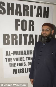 Sharia for Britain - sedition