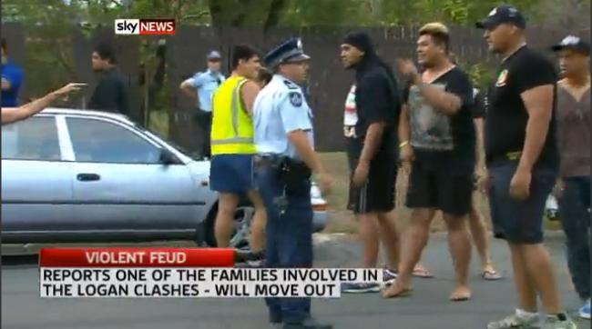Tongan immigrants rioting in Logan