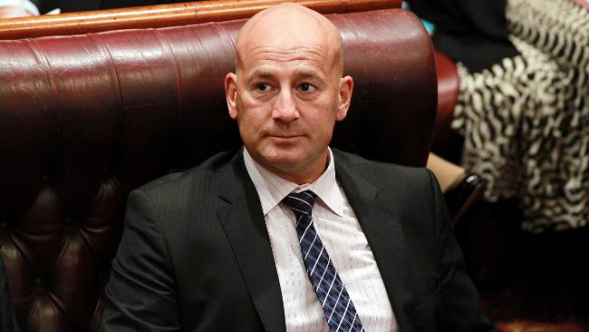 Ex-union bully John Robertson