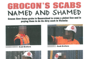 Grocon 457 Scabs