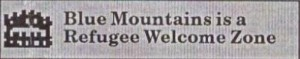 Blue Mountains is a Refuge Welcome Zone