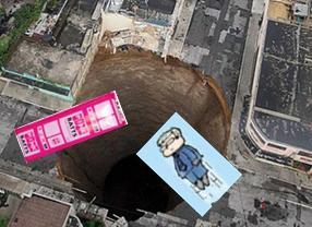 Labor Party Sinkhole