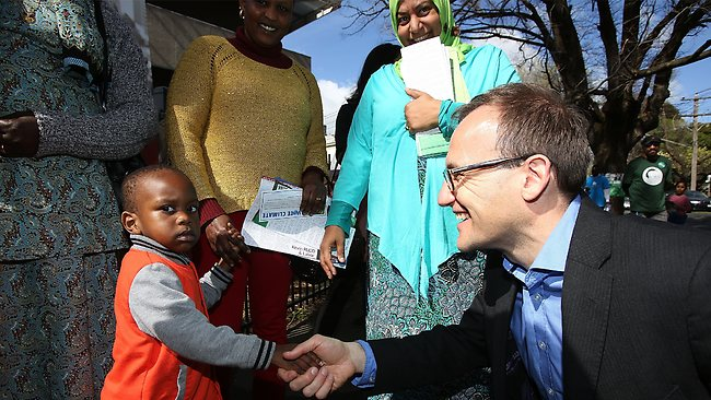 Adam Bandt wins refugees