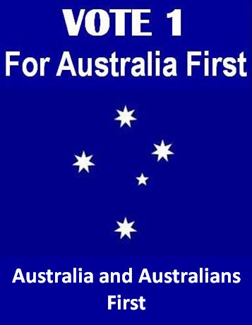Australia First for Australians
