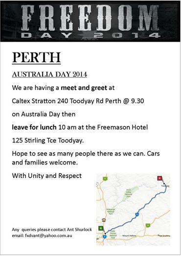 Freedom Day 2014 Perth