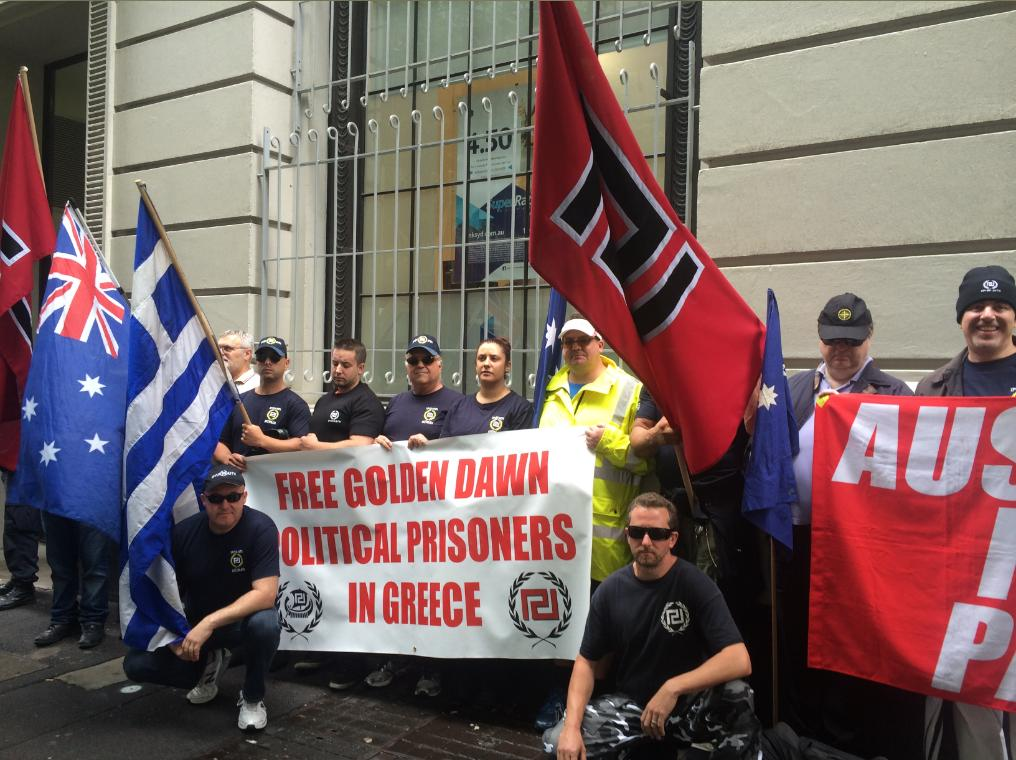 Free Golden Dawn politcial prisoners