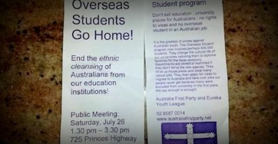 Overseas Students Go Home