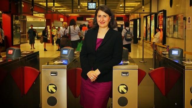 NSW Transport Minister Gladys Berejiklian – Australia First