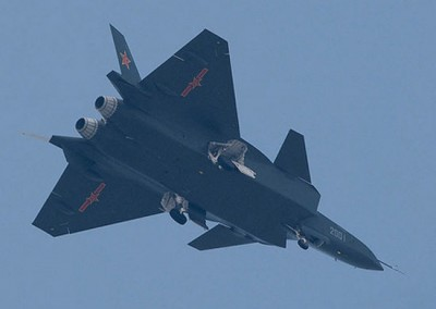 Chinese 5th Gen J-20 fighter