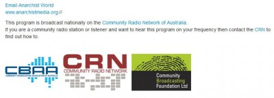 Community Radio promoting anarchy