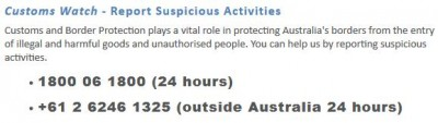 Australian Border Security
