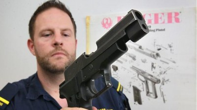 Illegal firearms on Australian streets