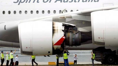 Qantas A380 Engine Explosion in July 2012