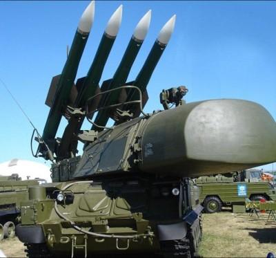 Russian BUK Missile launcher