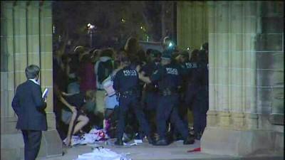 Anarchist violent protest May 2014