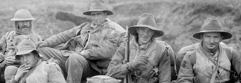 Australian Soldiers at The Somme