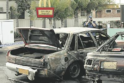 Fing's car bombing in Newcastle
