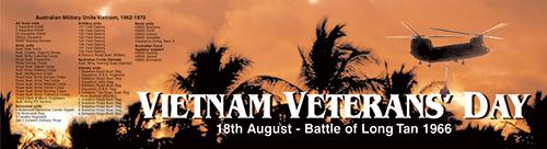 Vietnam Vets Day 18 August 1966