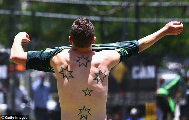 Australian Nationalist Tattoo