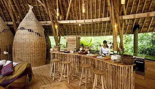 Bamboo Ceiling Bali