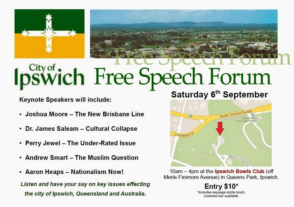 Ipswich Free Speech Forum