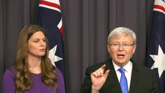 Kevin Rudd and Kate Ellis $700 milion spending spree