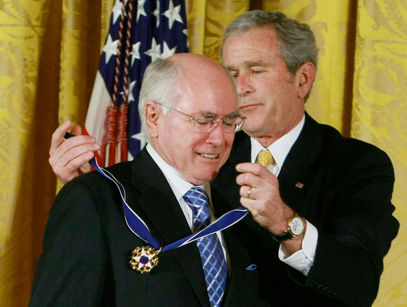 John Howard's medal of the willing