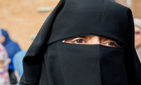 Niqab at Lakemba Mosque