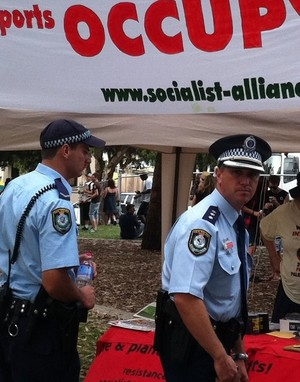 Police Presence in Marrickville
