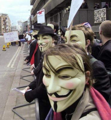 Guy Fawkes Maskers
