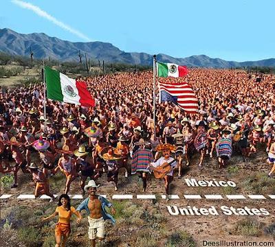 Obama Latino Invasion
