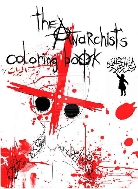 Anarchist Coloring Book