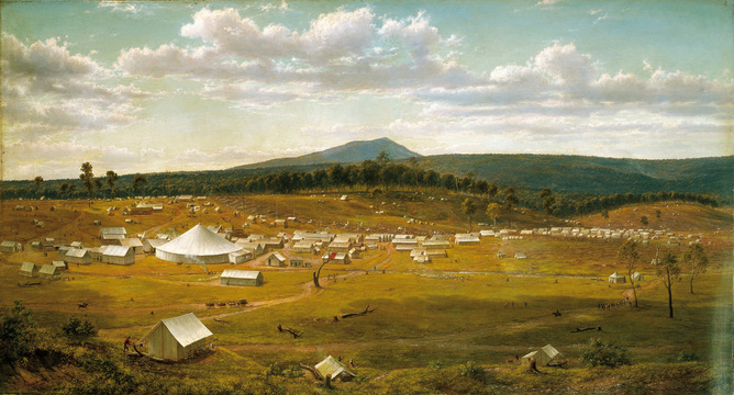 Ballaarat Goldfields 1850s
